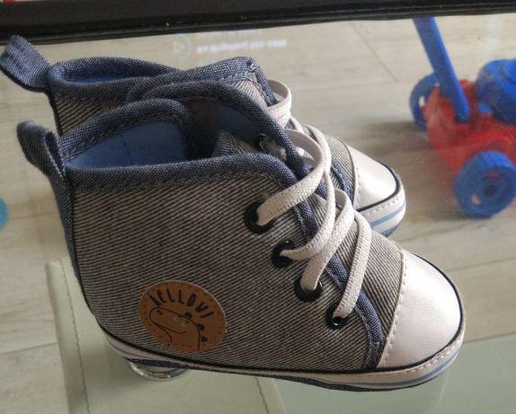 Buty niemowlęce niechodki trampki