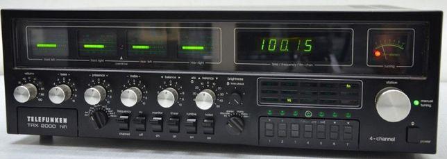 Telefunken TRX 2000 Quadro Stereo Amplituner Vintage Wzmacniacz Okazja