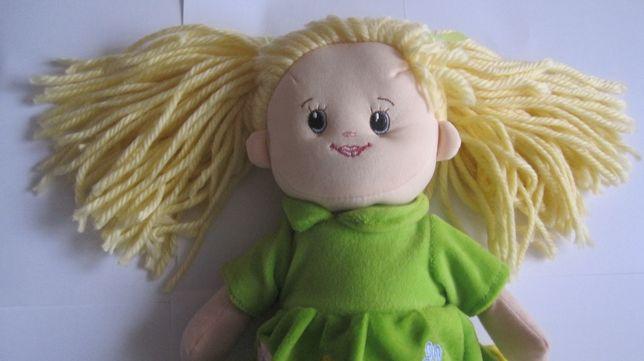 кукла мягкая с бреды косички куколка игрушка с тапочки іграшка