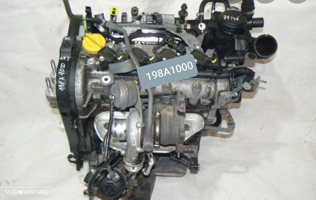 Motor Fiat Bravo Linea Alfa Romeo Lancia Delta 1.4T-Jet 150Cv Ref.198A1000