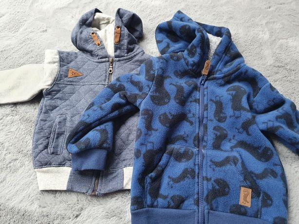 Bluzo kurtka oraz bluza 98 cool club