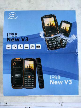Телефон IP68 vkworld V3 противоударный водоплавающий