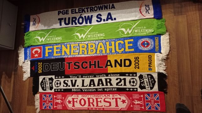 Szaliki Nothingam SV Laar DeutschlandFenerbahce Turów