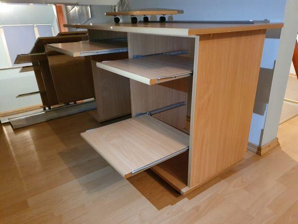 Biurko komputerowe, duże, nowe