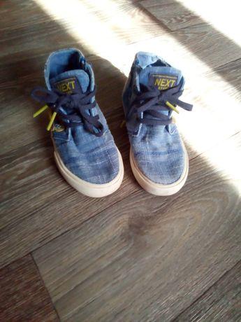 Кеды джинсовые для мальчика 26 размер