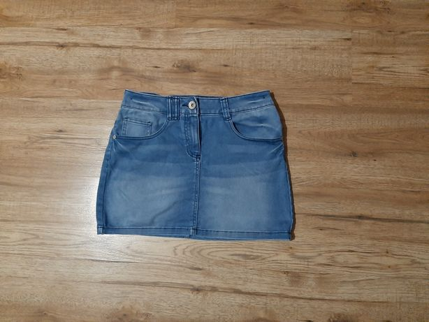 Spódniczka jeans r. 152/158