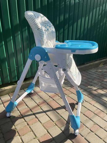 Детский стульчик для кормления съемный столик Bambi M
