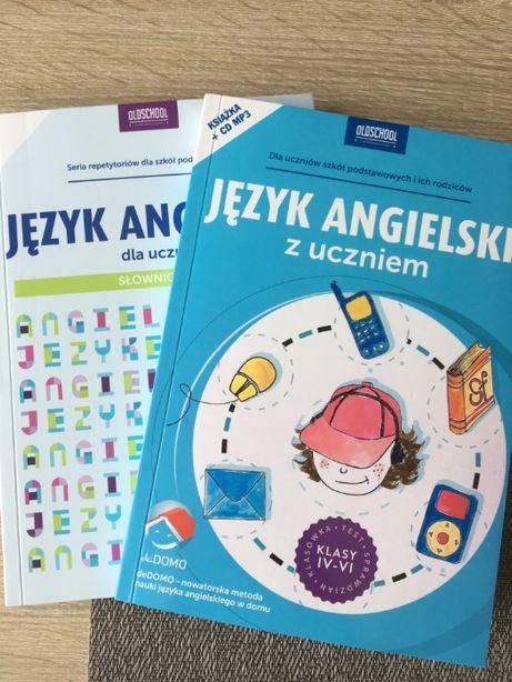 Język angielski z uczniem + Język angielski dla ucznia słownictwo