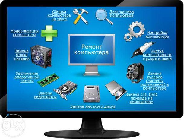 Ремонт компьютеров и ноутбуков г.Прилуки и Прилукский р-н...
