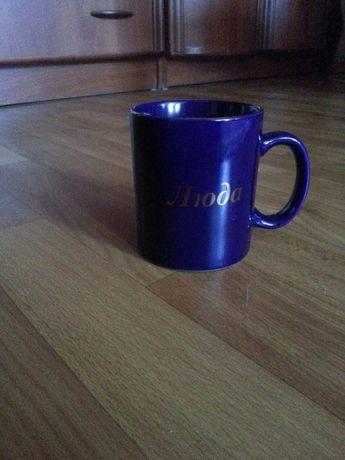 Чашка именная Людмила