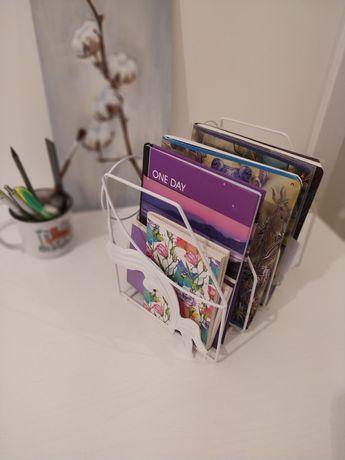 Подставка органайзер держатель для тетрадей книг журналов