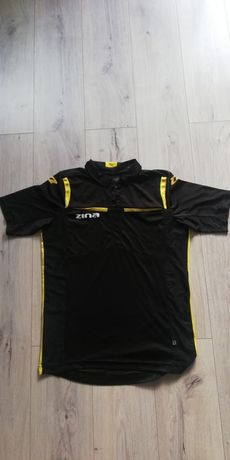 Koszulka sędziowska Zina Siena czarna r. M KR - stan idealny