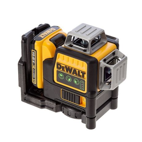 DeWalt Laser DCE089D1G Akumulatorowy Krzyżowy 3 wiązki 2Ah /celian/