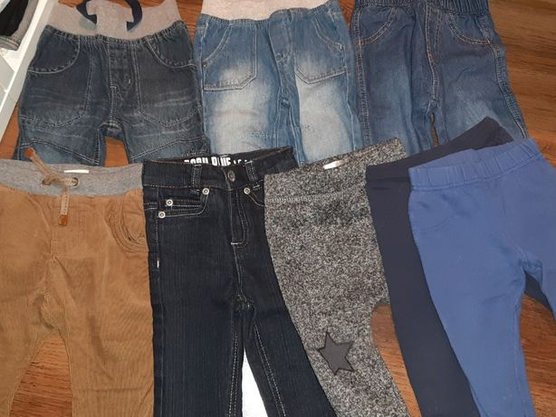 Spodnie, bluzki, koszulki 74