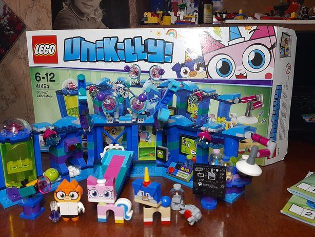 Набор Лего lego Лаборатория доктора Фокса Unikitty оригинал Дания
