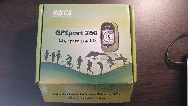 Nawigacja turystyczna, GPS rowerowy HOLUX GPSport 260, GR-260 - nowy