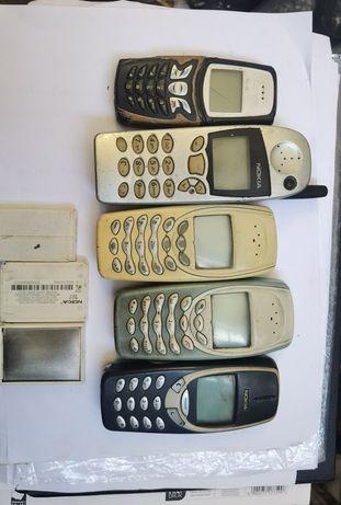 3x nokia 3410 1x 5210 1x 5110
