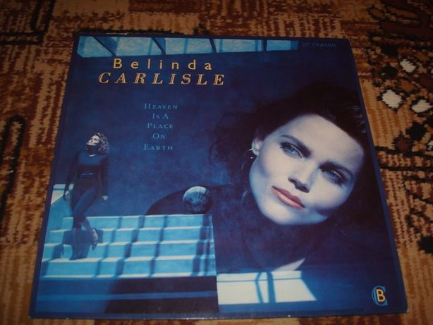 Płyty winylowe Belinda Carlisle-Heavan Is A On Earth-Maxi