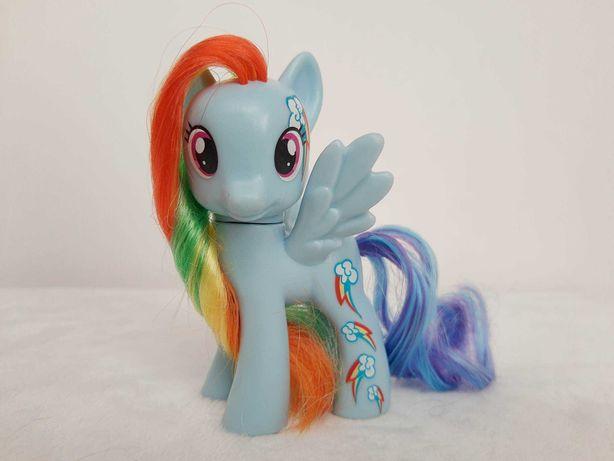 My Little Pony Rainbow Dash G4 figurka kucyk do czesania