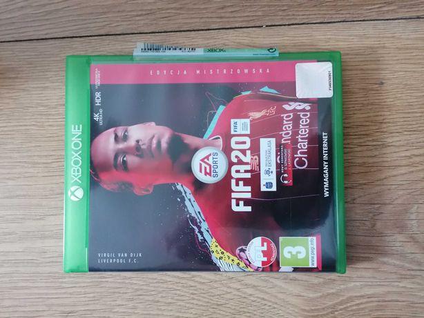 Fifa 20 Xbox One Edycja Mistrzowska