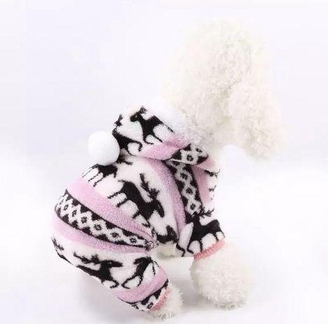 Плюшевый свитер на собаку
