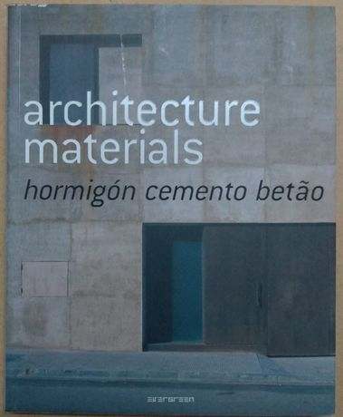 architecture materials - betão