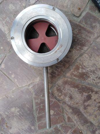 Безсальниковий кран з дисковими керамічним затвором