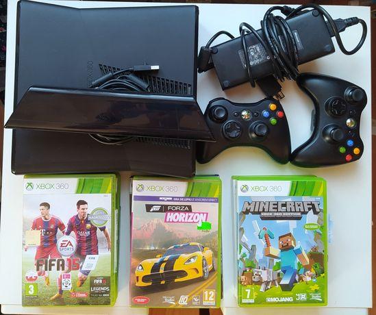 Mega Zestaw! Xbox 360 + Kinect + 10 gier + 2 pady