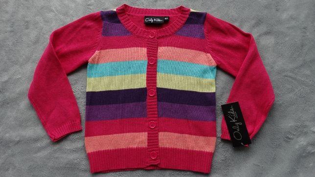 sweter dziewczęcy 4l.