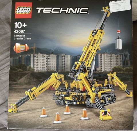 Lego Technic Компактный гусеничный кран 42097 констурктор