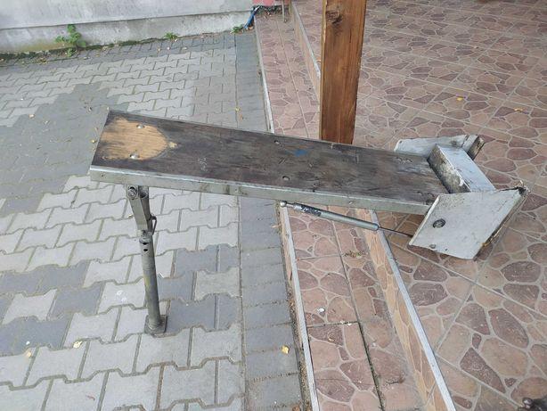 Solidne mocowanie podstawa imadła do zabudowy busa stół warsztatowy