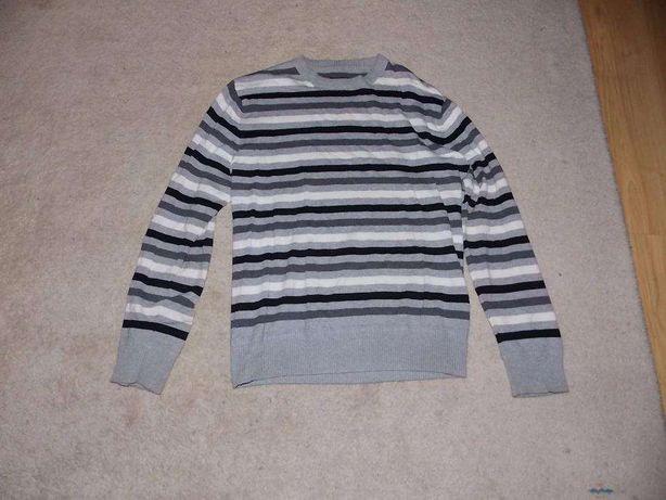 Męski sweterek w paski Blend rozmiar L