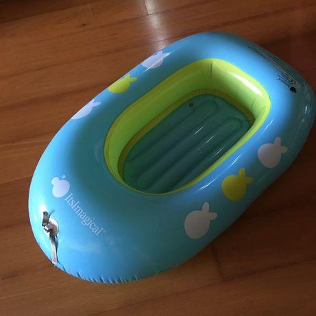 Barco insuflável Imaginarium como novo > usado como banheira