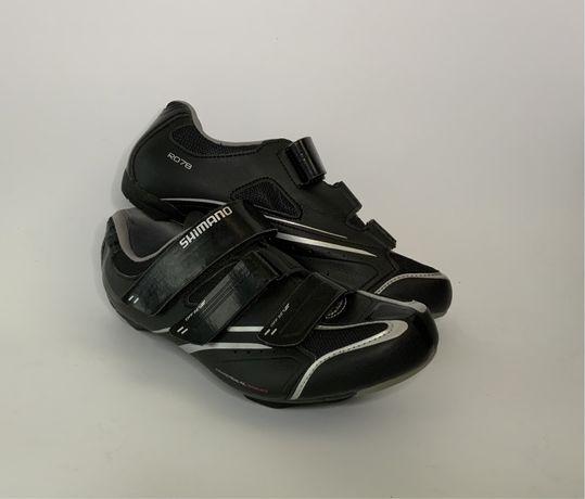 Велообувь Shimano SH-R078L, SPD-SL+SPD 43 (27.2 см) контактные велотуф