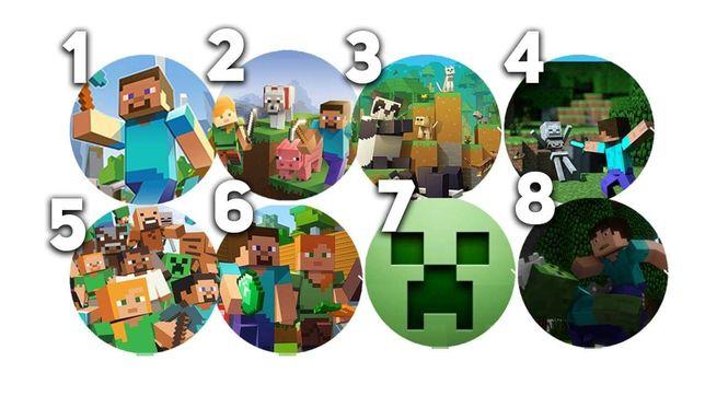 Opłatek na tort Minecraft szybka realizacja