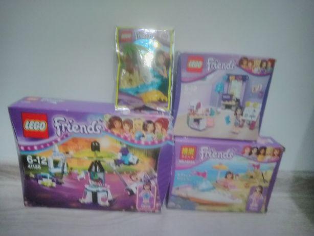 Sprzedam 3 zestawy LEGO Friends + saszetka