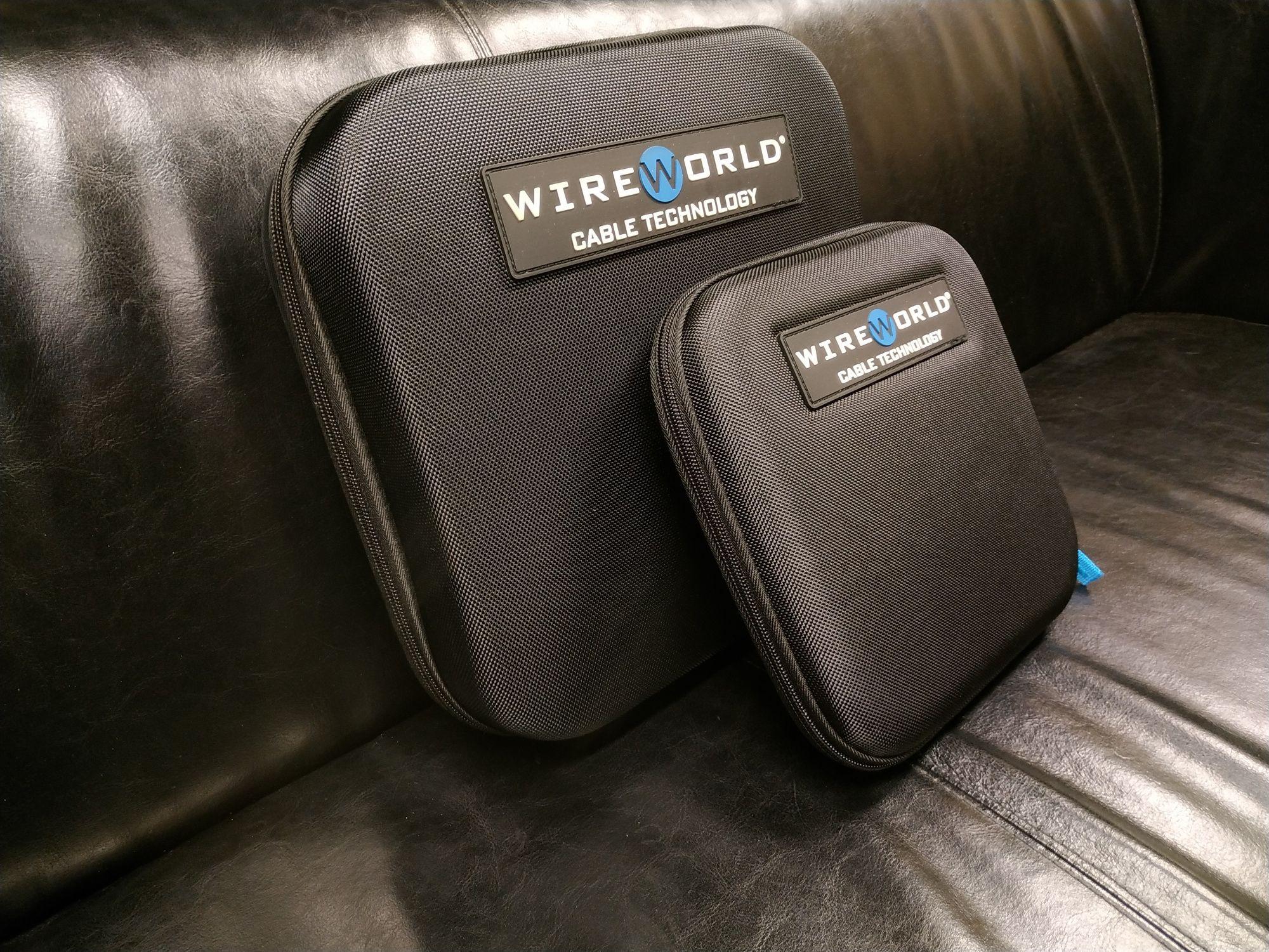 WireWorld Case etui walizka pokrowiec na suwak Trans Audio Hi-Fi