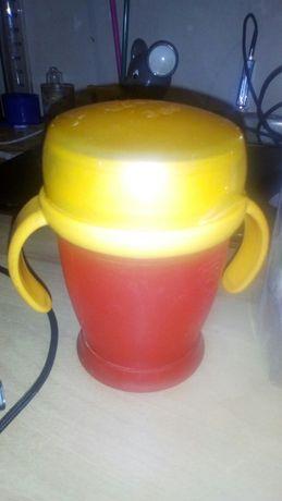 Чашка поильник непроливайка