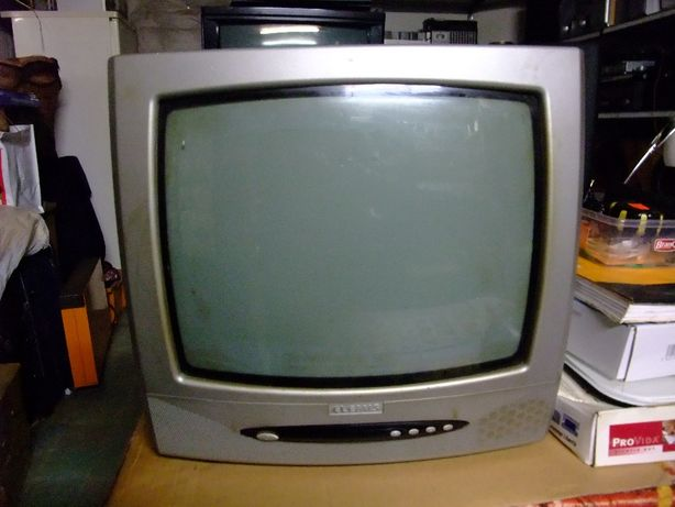 "TV kineskopowe: Elemis 14"", Daewoo 29"" z pilotem"