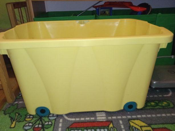 Pudełko pojemnik na zabawki