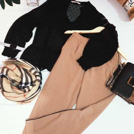 Блуза Zara та класичні штани  Bershka. Саме цей образ вам підійде!