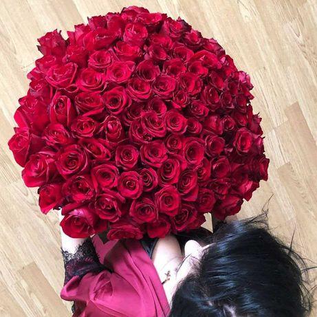 Розы, букет цветов Днепр, доставка цветов, купить цветы