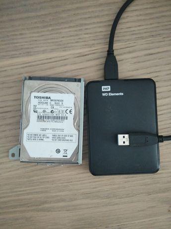 2 discos duro Externo para pecas ou para arranjar
