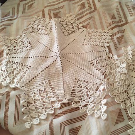 Conjunto de pecas de crochet bilros