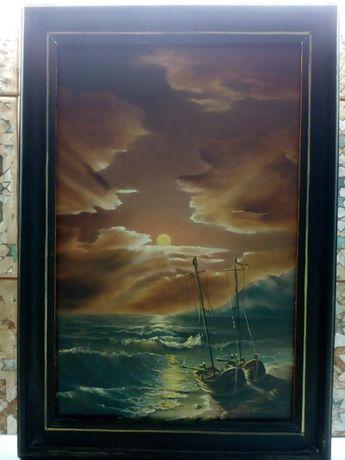 Продам картину масло художник Никитенко А.М. 1997 год на холст