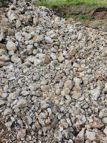 Kamień Dolomit Wapień Gruz betonowy Kruszonka Kruszywo Przekrusz 0-300