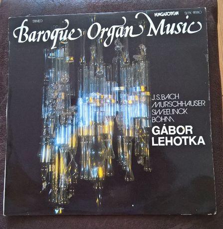 Płyta Winylowa Barogue Organ Muzic Gabor Lehotka