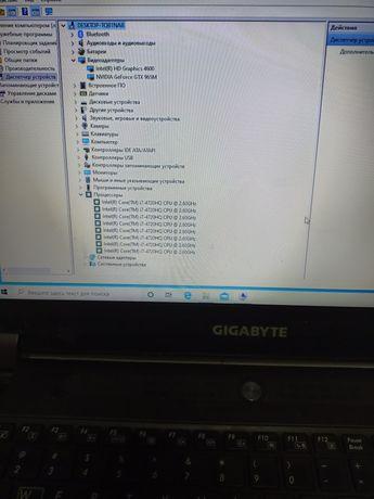Ноутбук Gigabyte Игровой, но с нюансами по корпусу