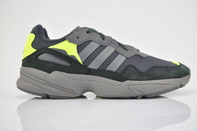 "Adidas Yung-96 ""Black/Volt"" 46 2/3 48 czarne volt F97180 nowe PURRFECT"