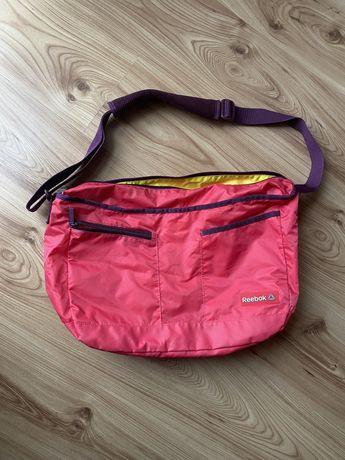 Torba sportowa Reebok Nike Adidas różowa